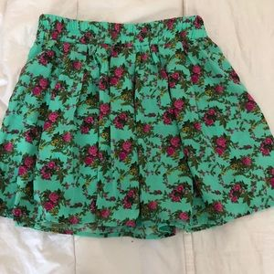 Cute & colorful skirt from Forever 21.